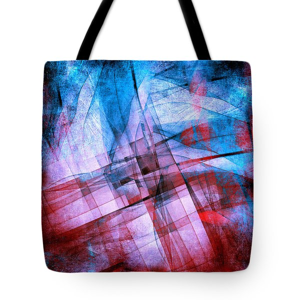 The Building Blocks 2 Tote Bag by Angelina Vick