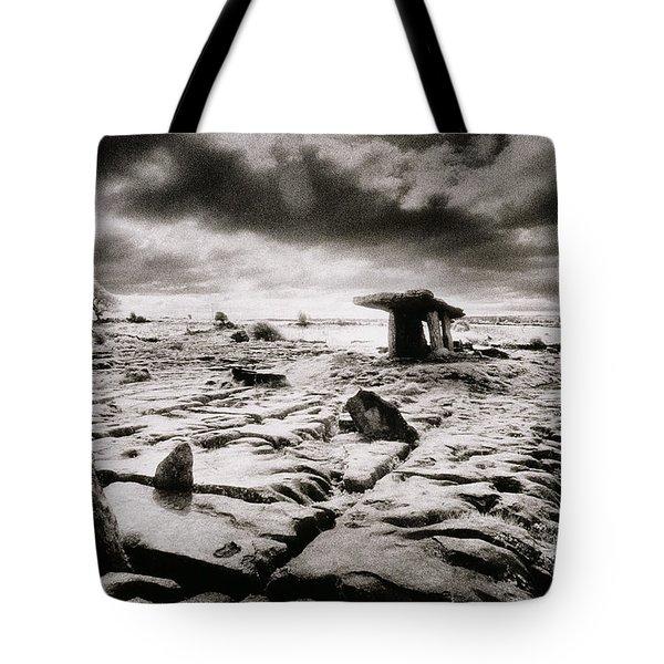 The Burren Tote Bag by Simon Marsden