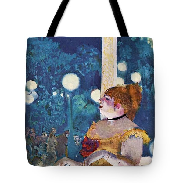The Cafe Concert Tote Bag by Pg Reproductions