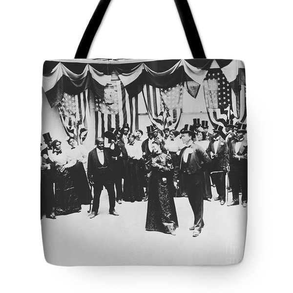 The Cakewalk Tote Bag by Photo Researchers