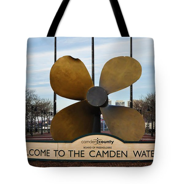 The Camden Waterfront Tote Bag by Bill Cannon