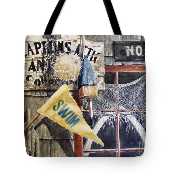 The Captains Attic Sold Tote Bag