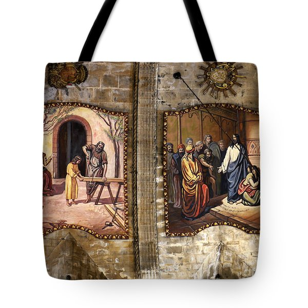 The Carpenters Son Tote Bag by John Chatterley