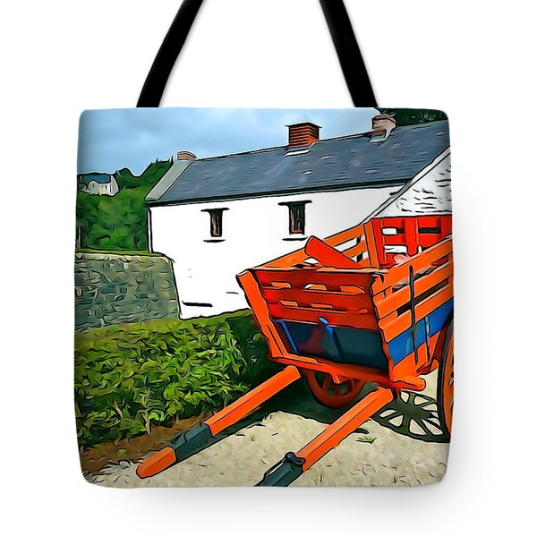 Tote Bag featuring the photograph The Cart by Charlie and Norma Brock