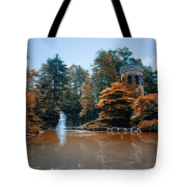 The Castle At Longwood Gardens Tote Bag