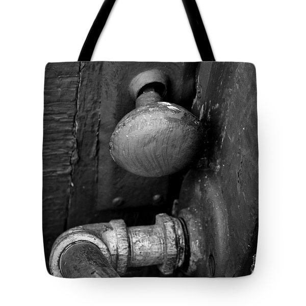 Tote Bag featuring the photograph The Cellar by Ron Cline