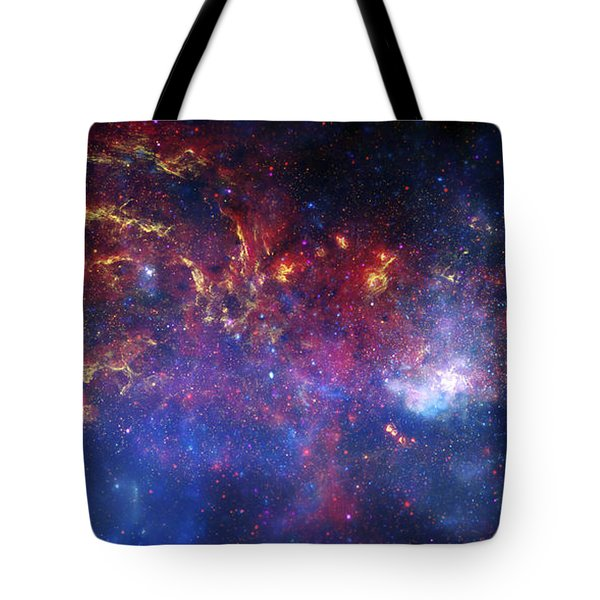 The Central Region Of The Milky Way Tote Bag by Stocktrek Images