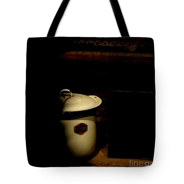 Tote Bag featuring the photograph The Chamber Pot by Newel Hunter