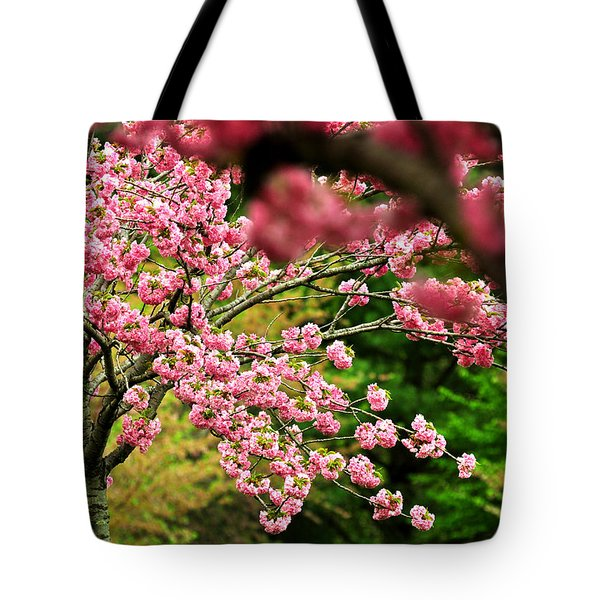 The Cherry Orchard Tote Bag by Rebecca Sherman
