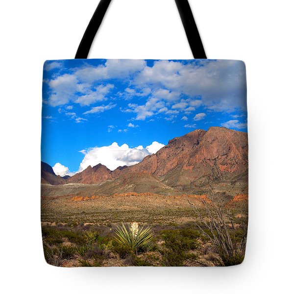 The Chisos Mountains Big Bend Texas Tote Bag by Gregory G Dimijian MD