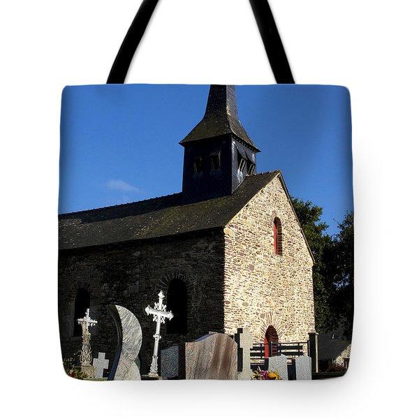 The Church Of Sainte-onenne Tote Bag by Fabrizio Troiani