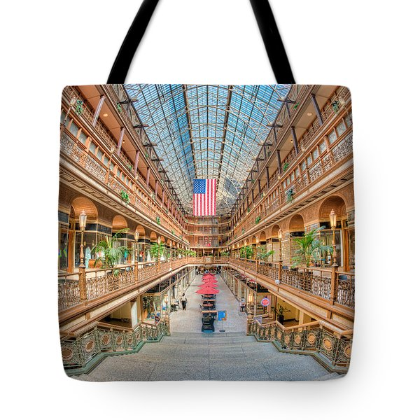 The Cleveland Arcade IIi Tote Bag by Clarence Holmes