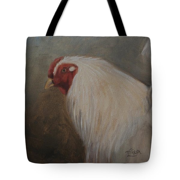 Tote Bag featuring the painting The Colonel by Tammy Taylor