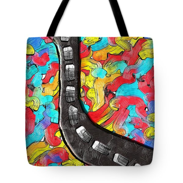 The Color Highway Tote Bag