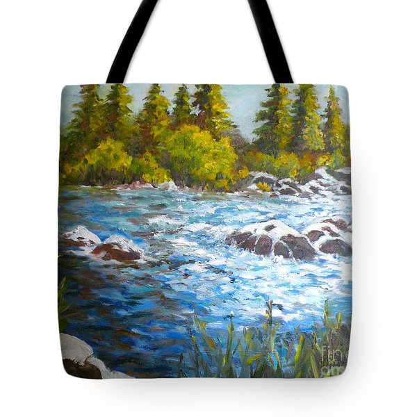 The Color Of Water Tote Bag