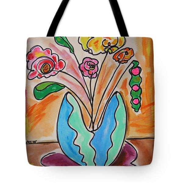 The Colors Of Sherbert Tote Bag