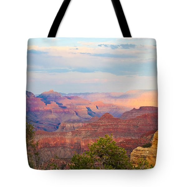 The Colors Of The Canyon Tote Bag by Heidi Smith