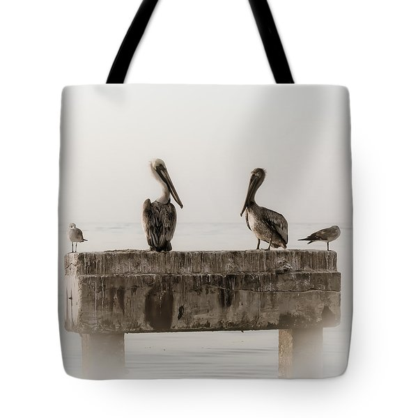 The Comedians Tote Bag