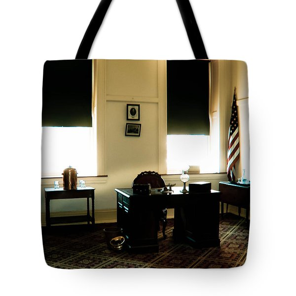 The Confederate Diary Tote Bag by Trish Tritz