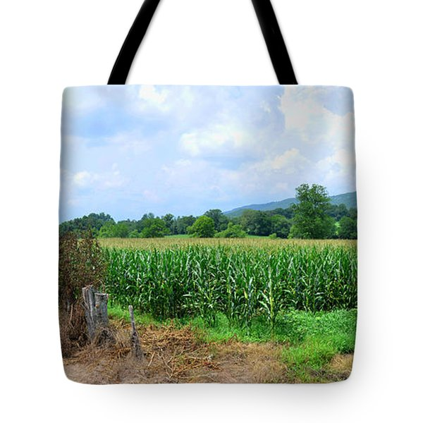 Tote Bag featuring the photograph The Corn Field by Paul Mashburn