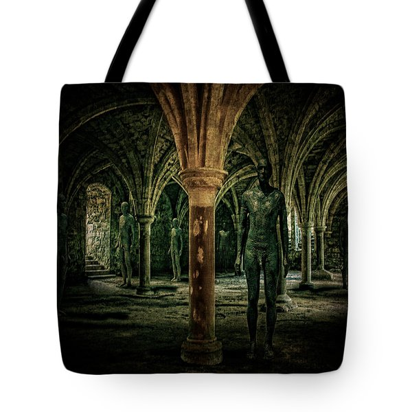 Tote Bag featuring the photograph The Crypt by Chris Lord