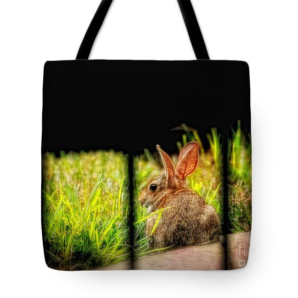 The Culprit Tote Bag by Lois Bryan