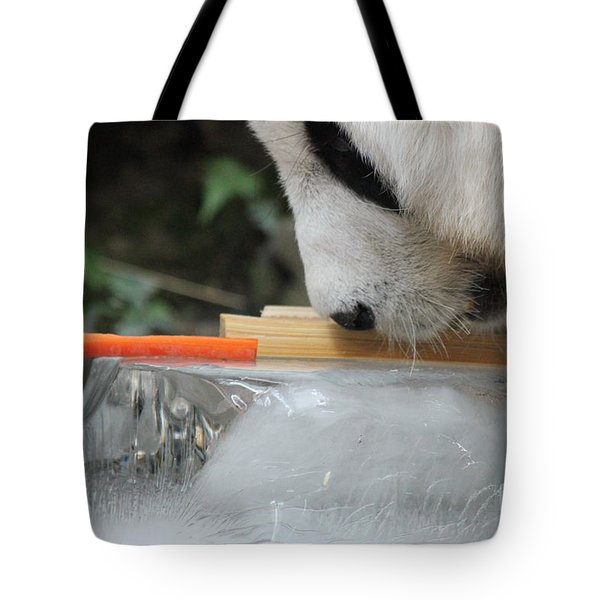 Tote Bag featuring the photograph The Curiosity Of Orange #1 by Nola Lee Kelsey