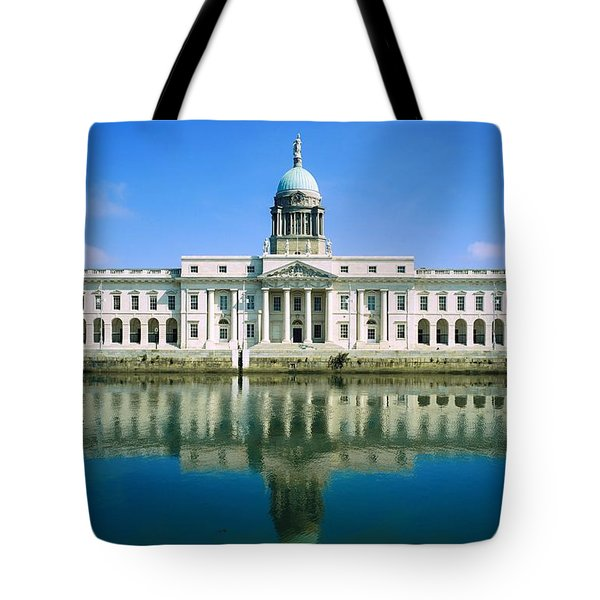 The Custom House, River Liffey, Dublin Tote Bag by The Irish Image Collection