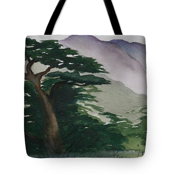 The Cypress Tree Tote Bag