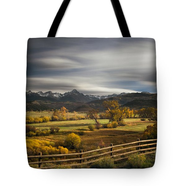 Tote Bag featuring the photograph The Dallas Divide by Keith Kapple