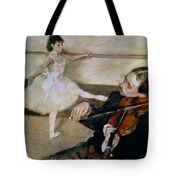 The Dance Lesson Tote Bag