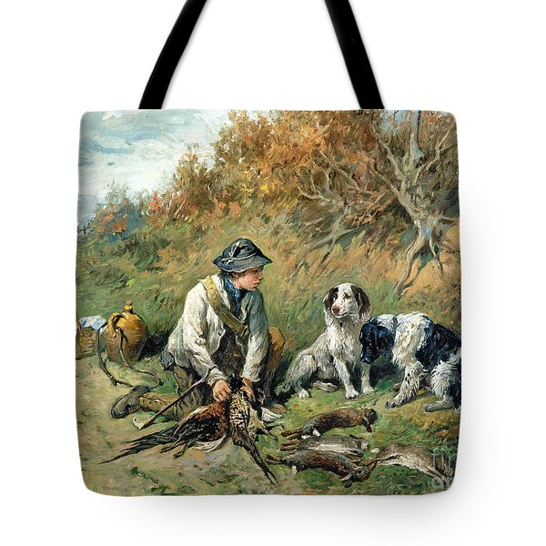 The Day's Bag Tote Bag by John Emms