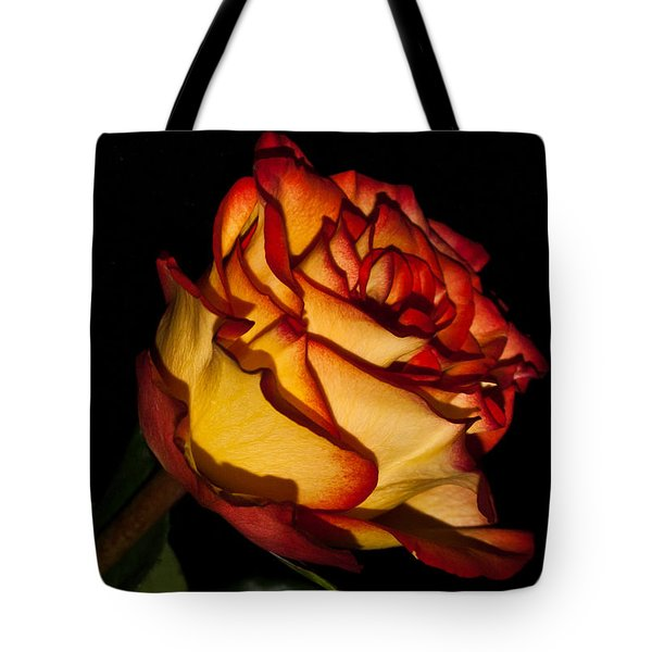 The Deepness Of A Rose 1 Tote Bag by Douglas Barnett