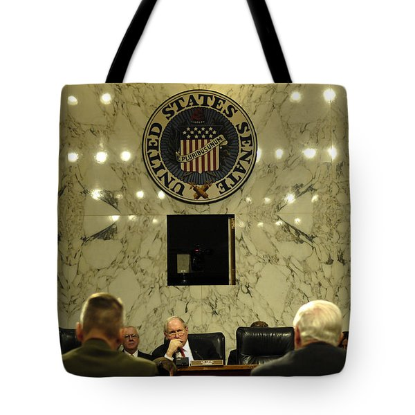 The Department Of Defense Address Tote Bag by Stocktrek Images