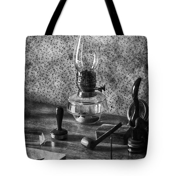 The Desk Tote Bag by Empty Wall