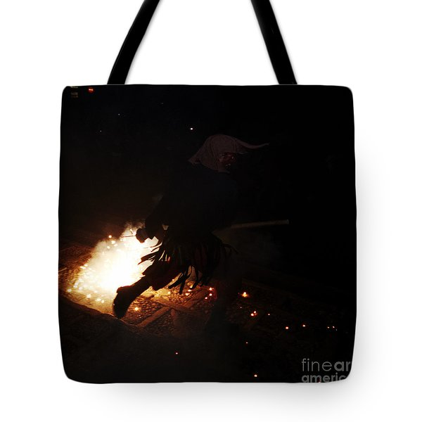 The Devil Of The Stairs Tote Bag