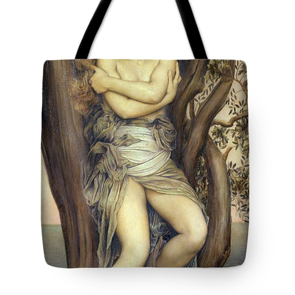The Dryad Tote Bag by Evelyn De Morgan