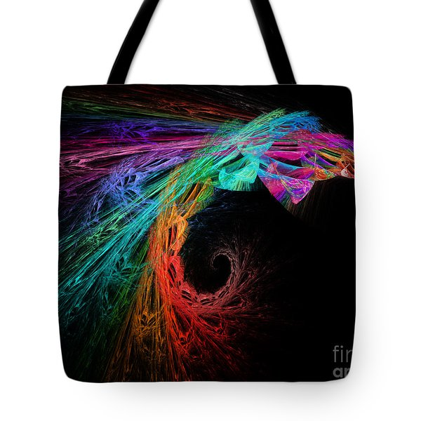 The Eagle Rainbow Tote Bag by Andee Design