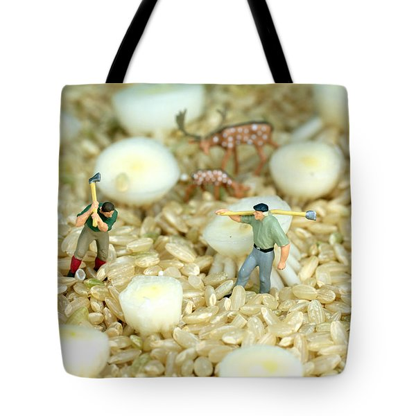 The Earth Is Our Homeland Tote Bag by Paul Ge