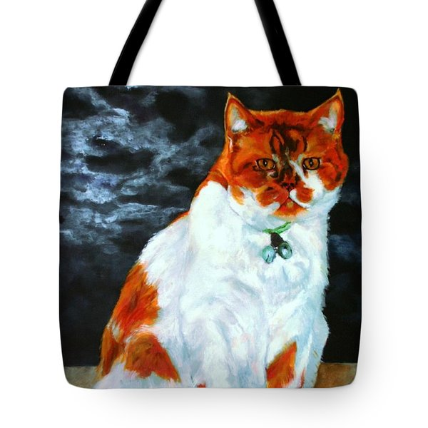 The Emperor Tote Bag by Jolante Hesse