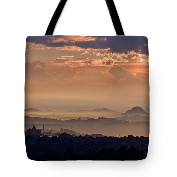 The End Of The Storm Tote Bag by Marco Busoni
