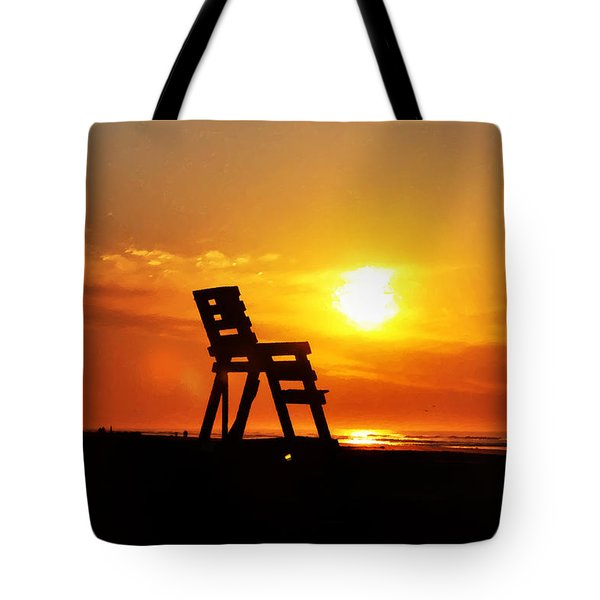 The End Of The Summer Tote Bag by Bill Cannon