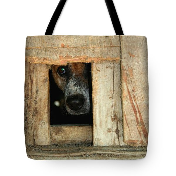 The Face Of Hoarding Tote Bag by Nola Lee Kelsey