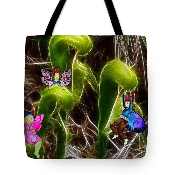 The Fairy's Playground Tote Bag by Methune Hively