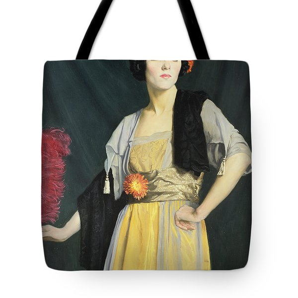 The Feather Fan  Tote Bag