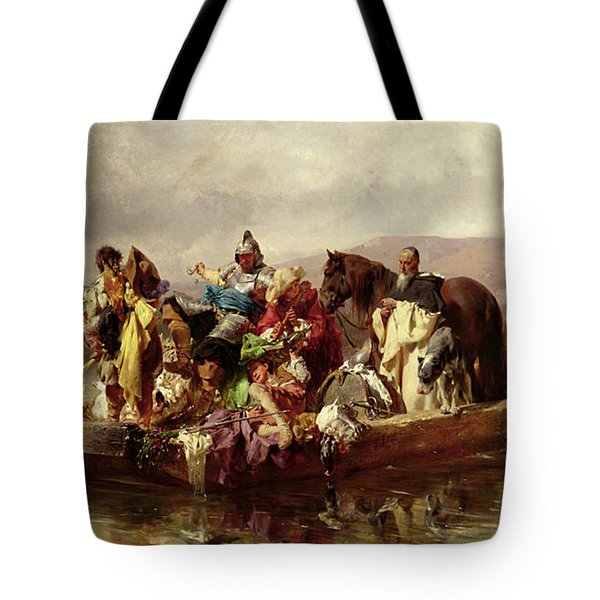 The Ferry  Tote Bag by Johann Till