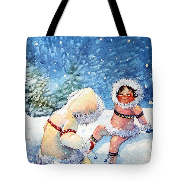 The Figure Skater 1 Tote Bag