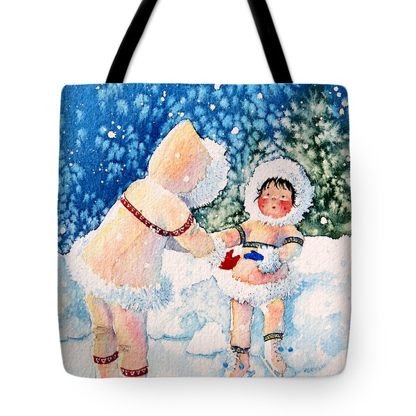 The Figure Skater 2 Tote Bag