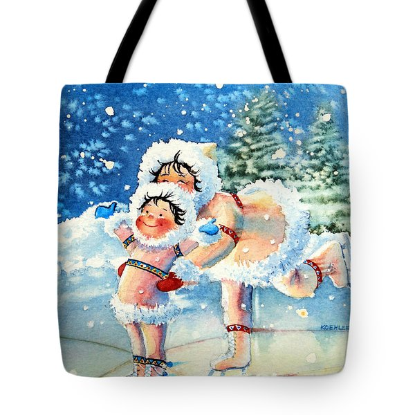 The Figure Skater 4 Tote Bag