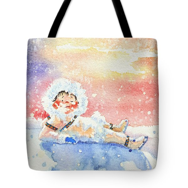 The Figure Skater 6 Tote Bag